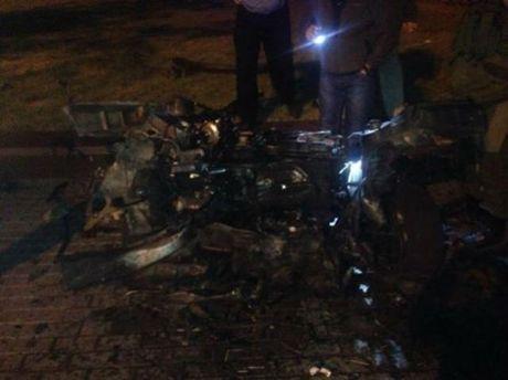 Після вибуху в Донецьку