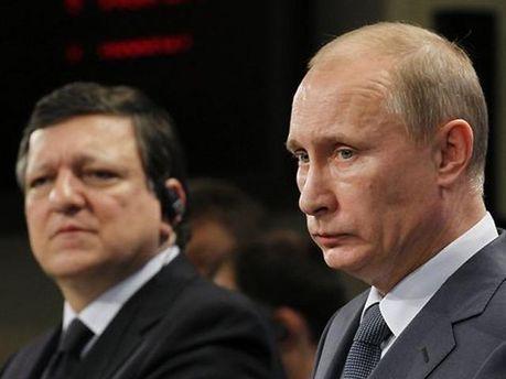 Баррозу і Путін