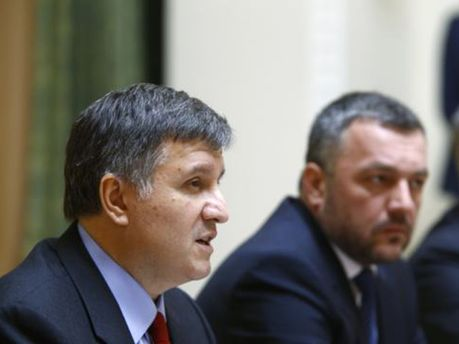 Арсен Аваков та Олег Махніцький