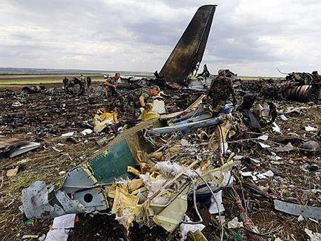 Збитий український літак