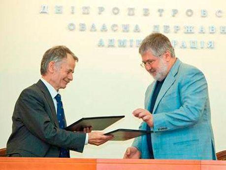 Мустафа Джемілєв та Ігор Коломойський