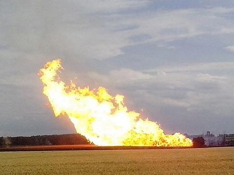 Взрыв на ГТС