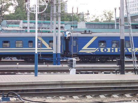 Поезд из Луганска