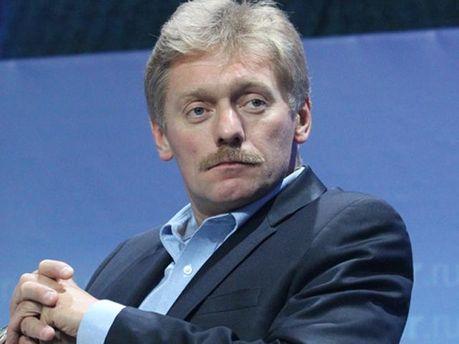 Прес-секретар Путіна Дмитро Пєсков