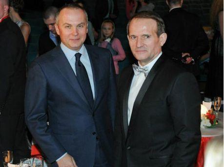 Виктор Медведчук и Нестор Шуфрич
