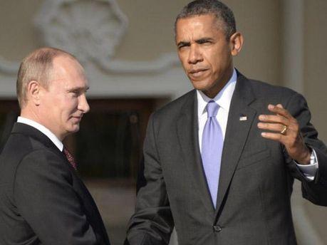 Путін й Обама