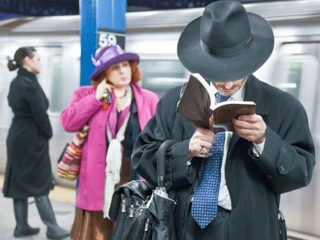 Чтение в метро