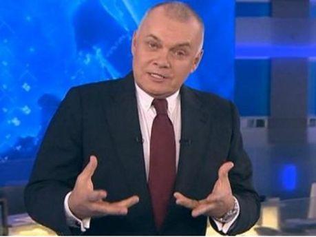 Российский ведущий Дмитрий Киселев