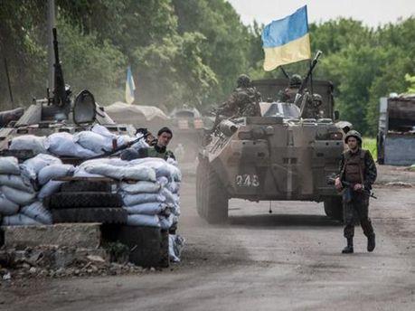 Український блокпост