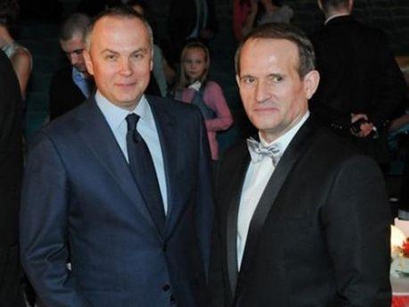 Нестор Шуфрич и Виктор Медведчук