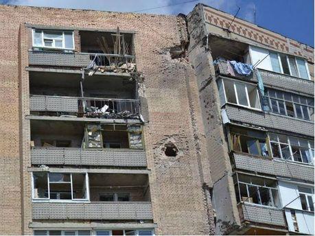 Славянск после обстрела