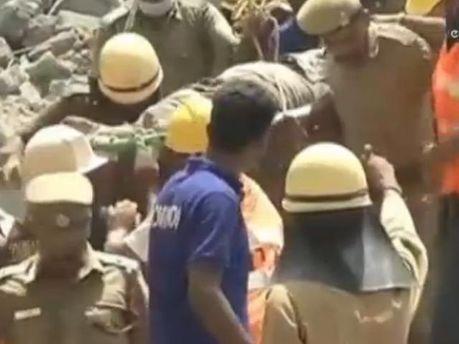 Спасательные работы в Чаннаи