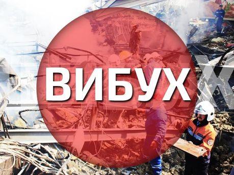 Взорвали склады с боеприпасами