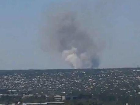 Вблизи Луганска вероятно идет бой