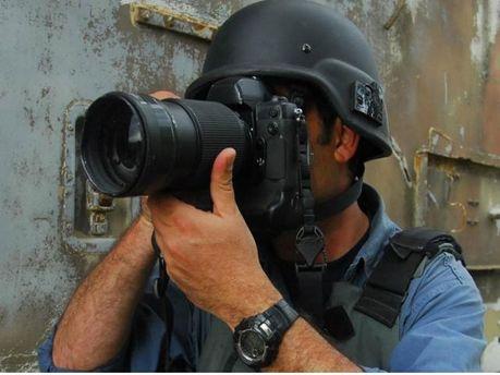 Журналисты в зоне АТО