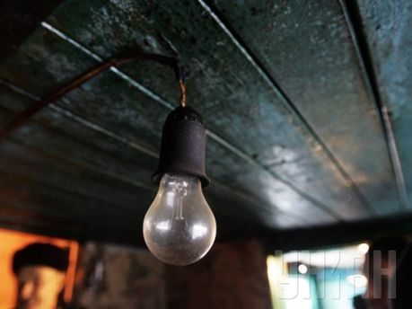 На Донбасі нема світла