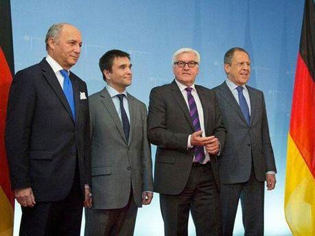 Встреча глав МИД в Берлине