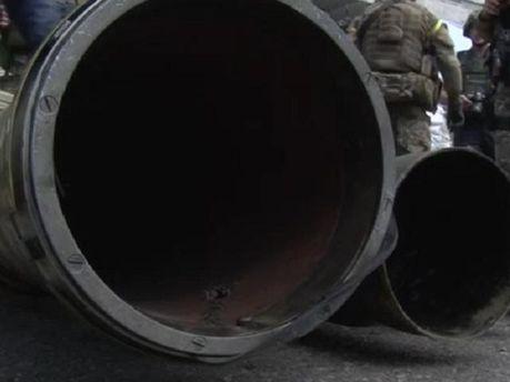 У мерії Слов'янська знайшли цілий арсенал зброї (Відео)