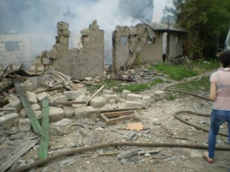 Обстреляна Луганская область