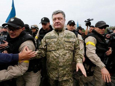 Петро Порошенко у Слов'янську