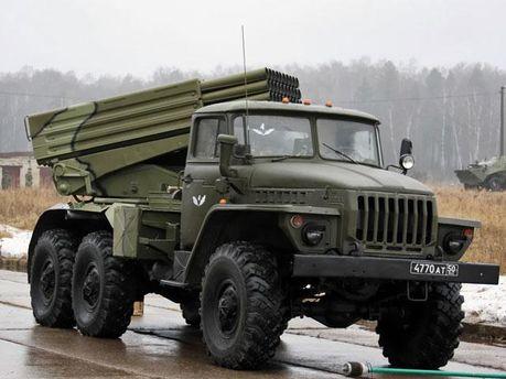 Система БМ-21