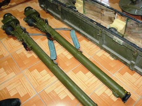 Оружие террористов