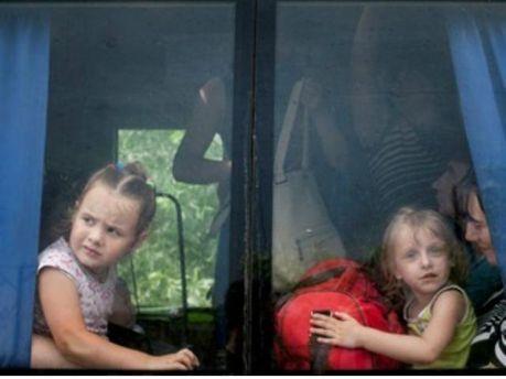 Дети с зоны АТО