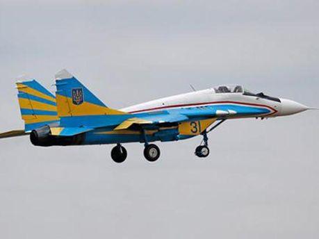 Украинскийй самолет