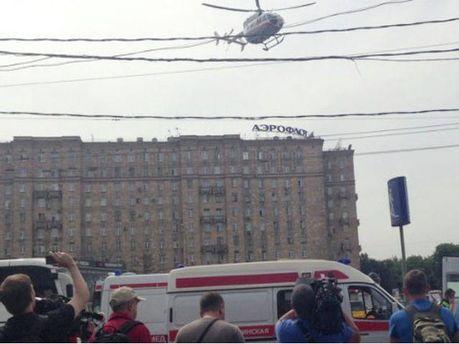 Аварія в московському метро