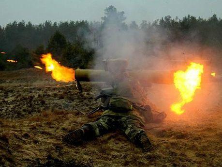 ПТУРС украинских силовиков