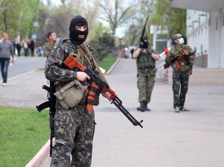 Терористи в Луганську