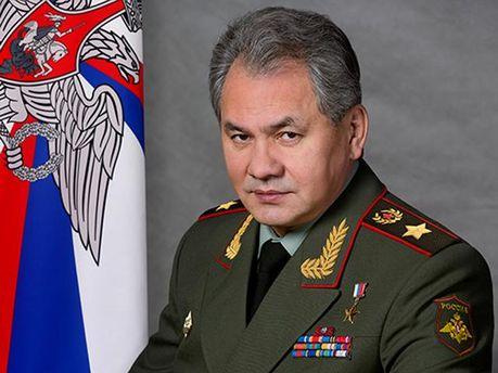 Міністр оборони РФ Сергій Шойгу