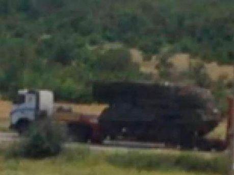 Террористы перевозят ЗРК