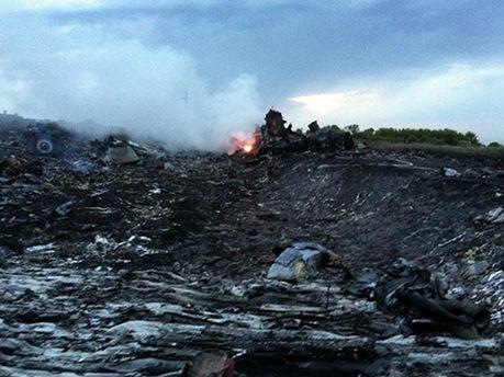 Обломки малайзийского самолета