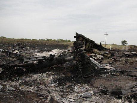 Авіакатастрофа на Донеччині