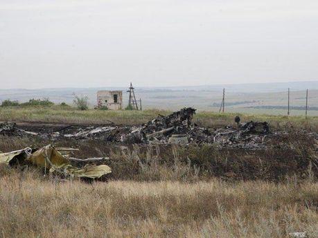 Авиакатастрофа в Донецкой области