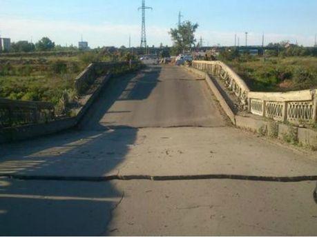 Взорван мост