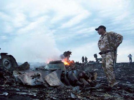 Місце трагедії Boeing-777