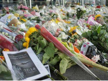 Почтение памяти жертв катастрофы Boeing 777