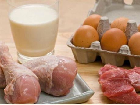 Мясные и молочные продукты