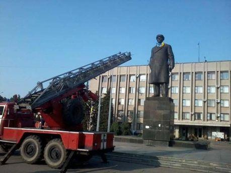 Ленин в Славянске
