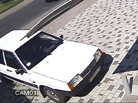 Правоохранители показали авто убийц мэра Кременчуга (Фото)