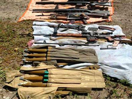 Склад зброї терористів