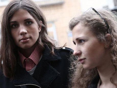 Надія Толоконнікова і Марія Альохіна