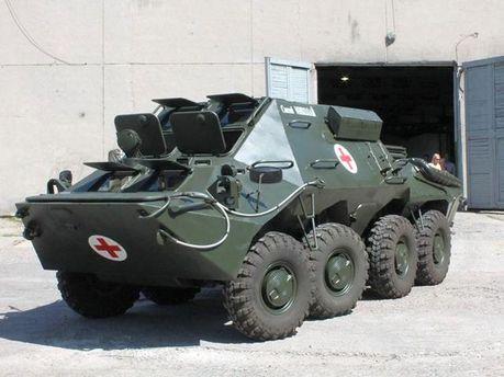 Бронереанимобиль БММ-70
