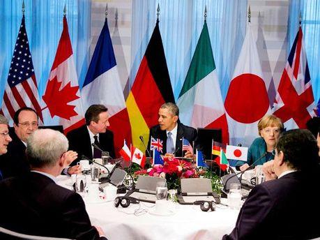 Лідери країн G7