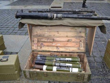 Зброя бойовиків