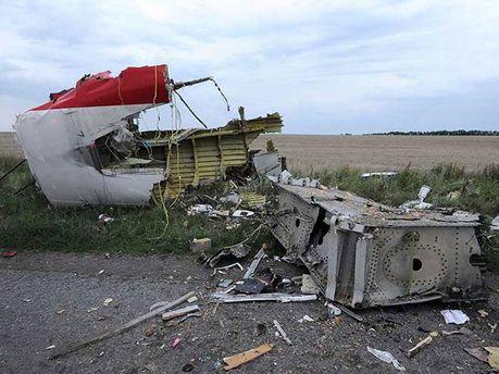Уламки збитого Boeing 777