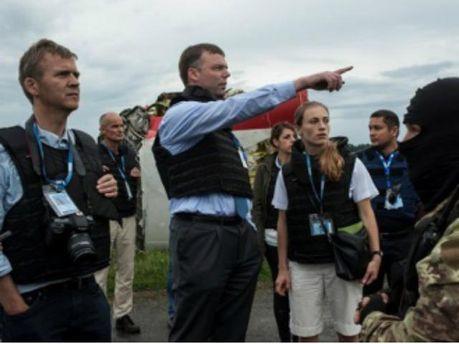 Місія ОБСЄ  на місці катастрофи Boeing 777
