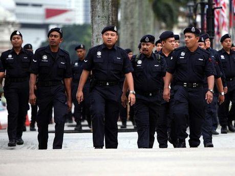 Малайзийские полицейские